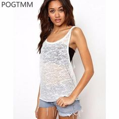 0311b4ee2d63e 2017 Hot Summer Sporting Sexy Tank Top Loose Fitness Active Wear!!