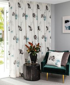 New Zealand made custom curtains and roman blinds available in just 12 working days!* For inspiration, browse our online Designers Collection gallery. Custom Made Curtains, Inspiration, Curtains, Custom Curtains, Designer Collection, Printed Shower Curtain, Room, Color, Drapes
