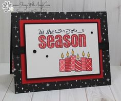 Stampin' Up! Merry Patterns in Red, Black & White – Stamp With Amy K