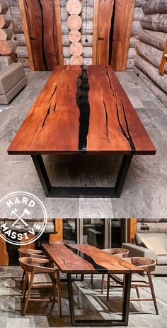 Love the design Live Edge Furniture, Resin Furniture, Living Furniture, Wooden Furniture, Custom Furniture, Furniture Design, Wood Resin Table, Slab Table, Wood Table