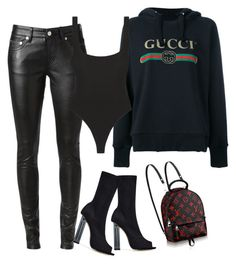 Untitled #680 by northwood on Polyvore featuring moda, Gucci, Yves Saint Laurent and Alix
