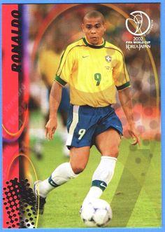 Panini FIFA World Cup 2002 Korea Japan Karte Nr.37 Ronaldo - Brasil   eBay
