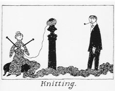 edward gorey knitting - Google Search