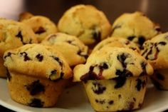healthy p90x recipes - blueberry muffins. Please share if you like!