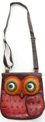 Owl Bag..My dauhgter Tatum would go CRAZY FOR THIS!!!..xoxo