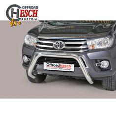 Frontschutzbügel Edelstahl poliert, Hilux Revo Toyota Hilux, Offroad, 4x4, Stainless Steel, Off Road