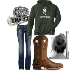 Cowgirl boats outfit winter jeans country girls hoodie best ideas, Informations About Cowgirl boats outfit winter jeans country girls hoodie best ideas, Country Style Outfits, Country Girl Style, Country Fashion, My Style, Country Life, Country Wear, Hair Style, Cowgirl Outfits, Western Outfits
