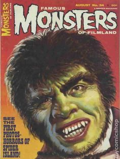 Famous Monsters of Filmland Magazine #34