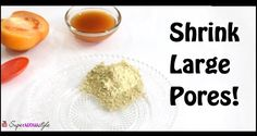 No more visible large pores! shrink large pores from face and nose, and reduce them with this simple DIY by superwowstyle! Skin Tips, Skin Care Tips, Nose Pores, Pore Strips, Pore Cleanser, Minimize Pores, Clogged Pores, Face, Diy