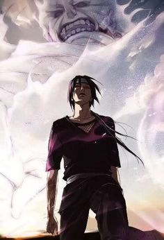 Uchiha, Itachi x susanoo Anime Naruto, 5 Anime, Naruto Art, Naruto And Sasuke, Anime Comics, Anime Guys, Itachi Uchiha, Gaara, Uciha Madara