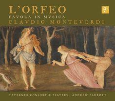 Monteverdi: L'Orfeo - new Taverner recording | The Taverner Choir ...