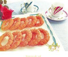 Roscas de Sal Comida Judaica, Fish, Meat, Ethnic Recipes, Jewish Recipes, Winter Time, Bagels, Recipes, Cooking