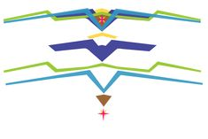 Free Wonder Woman tiara pattern for foam or metal. Great for a Halloween costume for work or kids craft.