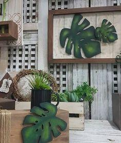 Hot Tub Backyard, Wooden Cutouts, Bunny Crafts, Leaf Art, Tropical Decor, Mosaic Art, Flower Art, Diy And Crafts, Art Deco