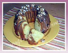 Κέικ με καραμέλες γάλακτος