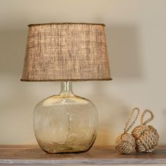 Demijohn Table Lamp - 8 Colors!