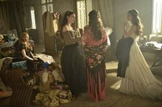 Still of Anna Popplewell, Caitlin Stasey, Adelaide Kane and Celina Sinden in Reign (2013)