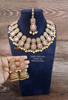Comment below for Price & How to order jewelry #Jewelry #ArtificialJewelry #Goldnecklace #NecklaceSet #FancyNecklace #silvernecklace #oxidisednecklace #Kerelashopping #Kartanakashopping #Goldnecklaceset #Beadnecklace #PearlNecklace