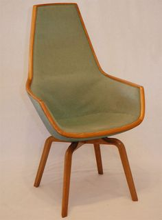 "Arne Jacobsen ""Giraffe"" Chair - 1950's"