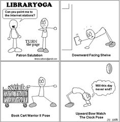 Library Yoga (click for source)