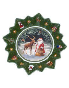 Large Bowl : Deer, $24 | #HudsonsBayHoliday