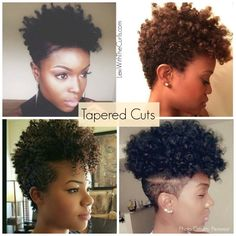 It's Time For A Hair Cut... Tapered Cuts - LexiWithTheCurls