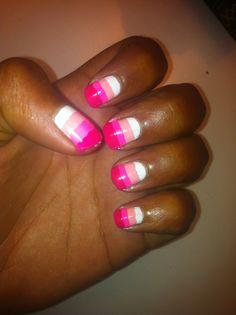 Stripy Pink