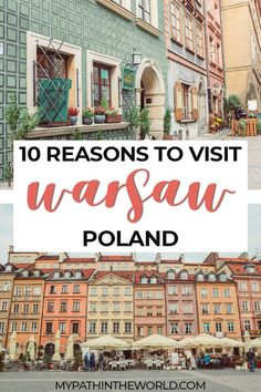 Looking for some European travel inspiration? Here are all the reasons to travel to Warsaw, Poland's beautiful capital city. Europe Travel Guide, Europe Destinations, Travel Guides, Holiday Destinations, Poland Travel, Italy Travel, Europe Bucket List, Central Europe, Best Places To Travel