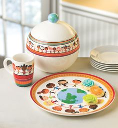 Looking for a cool gift that gives back? Check out this UNICEF Circle of Friends cookie jar!