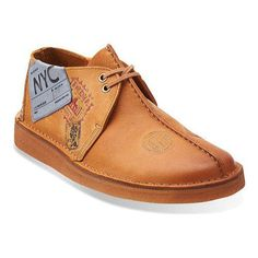 Recognizable for its signature center stitched seam, the Desert Trek has been a footwear classic for nearly 30 years. Roomy toe box allows for natural toe spread. Genuine plantation crepe outsole cush