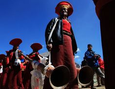 Saga Dawa Festival in der Mount Kailash Region.