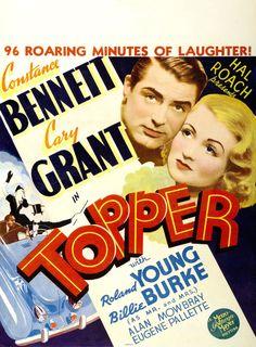 Topper, Cary Grant, Constance Bennett, 1937