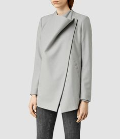 Women's Ora Jacket (Ice Blue) - product_image_alt_text_2