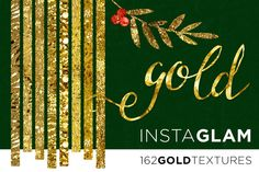 Check out Gold Foil InstaGlam Texture Megapack by Jessica Johnson on Creative Market