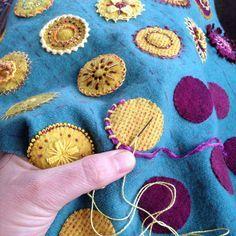 Embroidering Mandalas   Flickr - Photo Sharing!