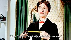 When she proved that modesty is overrated: | 14 Times Mary Poppins Was The Undisputed Queen Of Sass