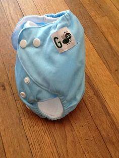 Newborn pocket cloth diapers