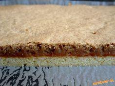 Linecké orechové rezy Vanilla Cake, Baked Goods, Cheesecake, Pie, Baking, Food, Basket, Lemon Tarts, Torte
