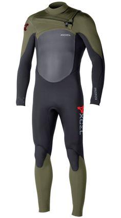 Xcel Mens Wetsuit Infiniti X2 TDC 4/3mm Fullsuit
