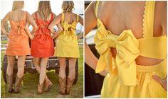 Cute bridesmaid dress idea - judith March