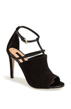 cute peep toe leather sandals @Nordstrom