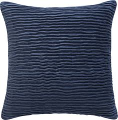 """Lyra Blue 20"""" Pillow in New Accessories 