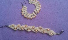 forget-me-knot Macrame Jewelry, Knots, Crochet Necklace, Forget, Bracelets, Earrings, Ideas, Bangles, Ear Rings