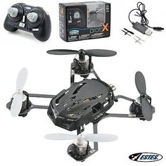 Black Estes Proto X Nano Quadcopter RTF w Radio  Spare Blades >>> More info could be found at the image url.Note:It is affiliate link to Amazon.