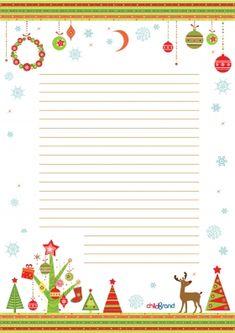 Бланк для письма Дедушке Морозу