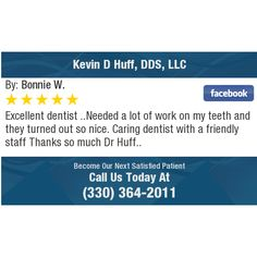 Excellent dentist ..Needed a lot of work on my teeth and they turned out so nice. Caring...