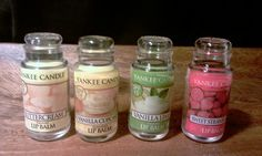 Yankee Candle Lip Balm?! I need these! I hope they sell these in Ireland but I doubt they do :(