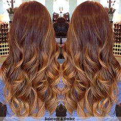 Two colors ombre indian remy clip in hair extensions M3027SH27S [M3027SH27S] - VPfashion.com