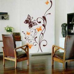 Adhesivos decorativos: dale más vida a tus paredes   Paredes ...
