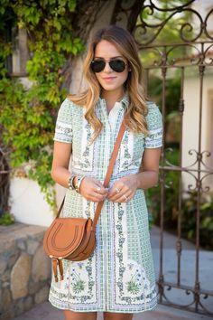 Dress- Tory Burch  Blog by Julia Engel